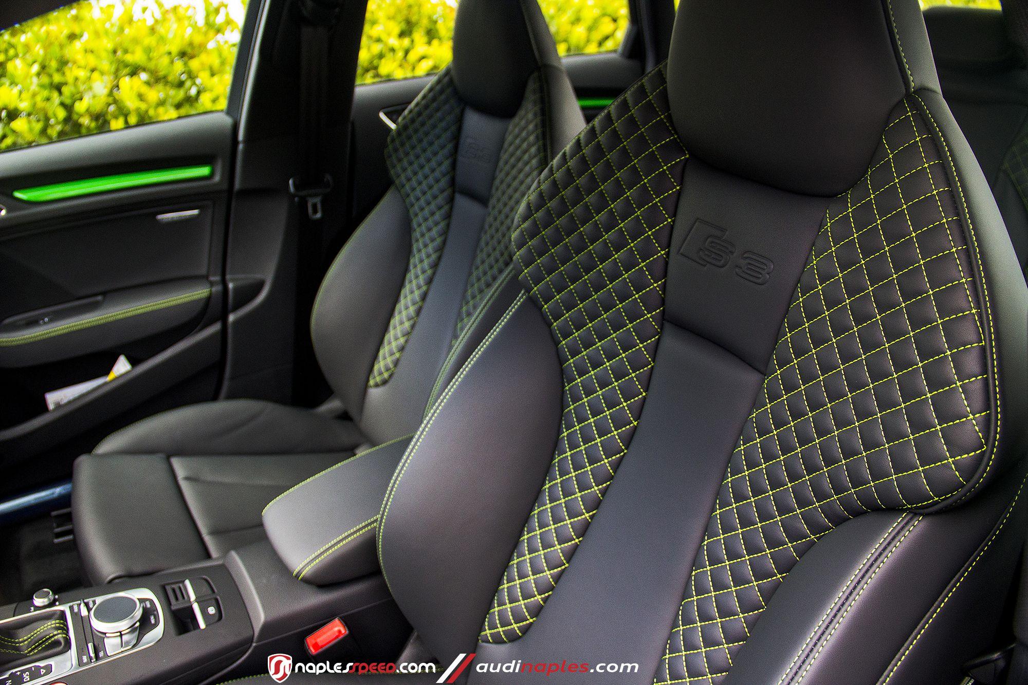 Audi A3 Green Interior Google Search S Izobrazheniyami