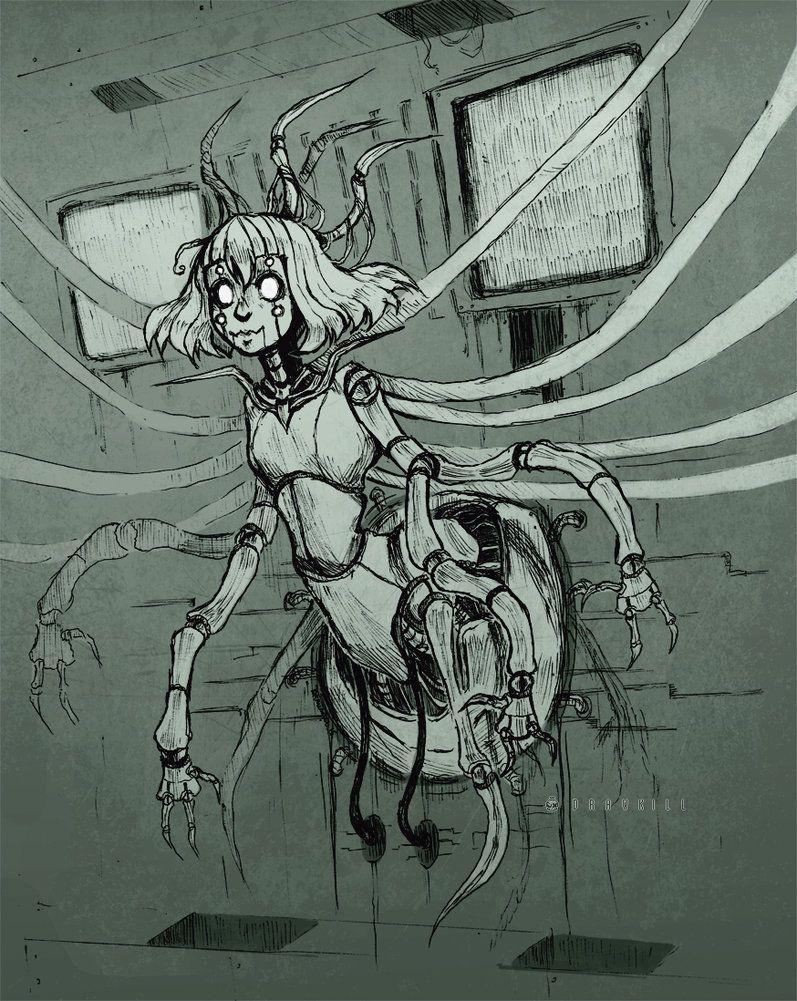 Seeartdatcom As Ilustracoes Goticas E Sombrias De Drawkill