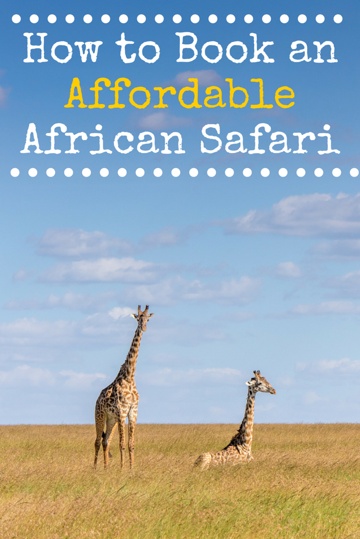 African safaris are expensive. Here's how you can bring the costs down a little. Take your kids everywhere! But don't pay more than you have to.