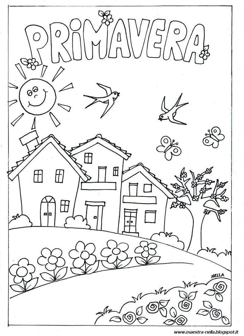 Le stagioni scuola infanzia schede um55 regardsdefemmes for Lavoretti estate scuola dell infanzia