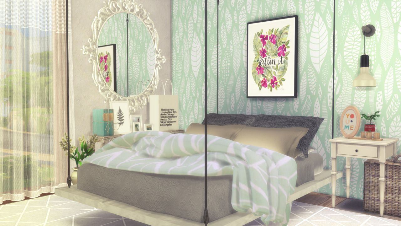 Sims 4 CC Finds | Sims | Sims 4 bedroom, Sims 4 beds, Sims 4