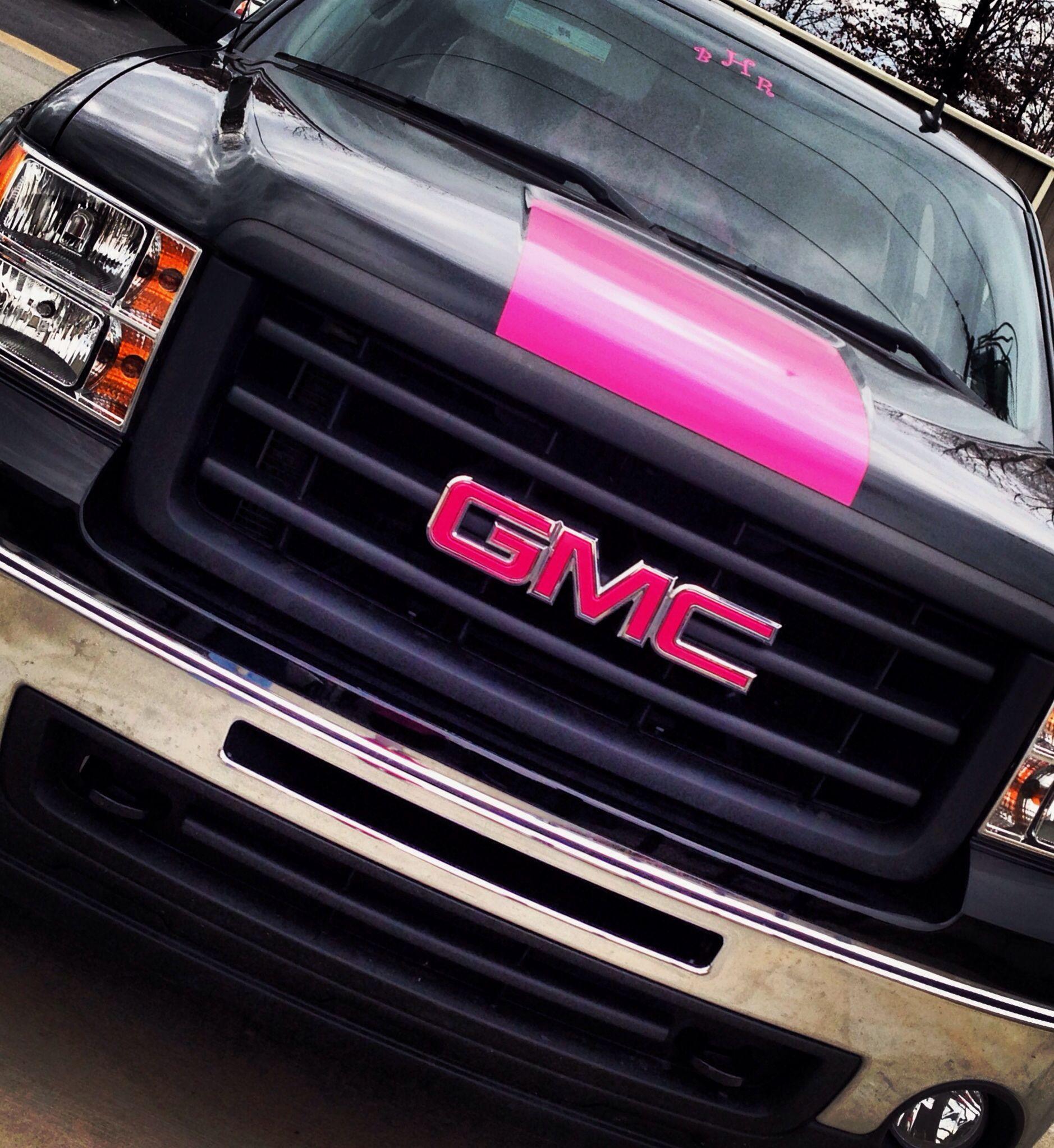 My Pink And Black Z71 New Trucks Future Trucks Gmc Trucks