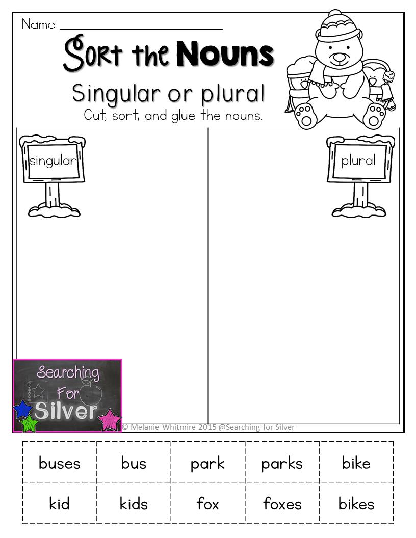 Sort The Singular Or Plural Nouns And Other Fun No Prep Literacy Printables For Winter Kindergarten Reading Activities Literacy Kindergarten Reading [ 1056 x 816 Pixel ]