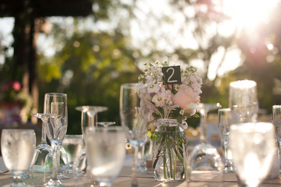 DIY Bride » Crafting Beautiful Weddings, One Project At A Time » Olivia + Brennan's Vintage Backyard Wedding