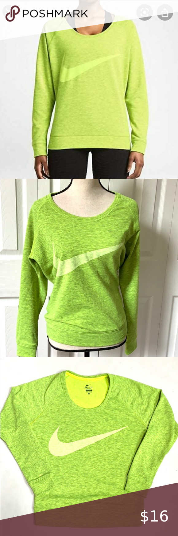 Nike Dri Fit Epic Obsessed Sweatshirt Crewneck Sweatshirt Women Nike Crewneck Sweatshirt Sweatshirts [ 1740 x 580 Pixel ]