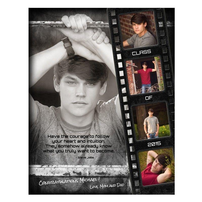 Yearbook Ad Designs - Film Strip Grunge | Yearbooks, Ads and Senior ads