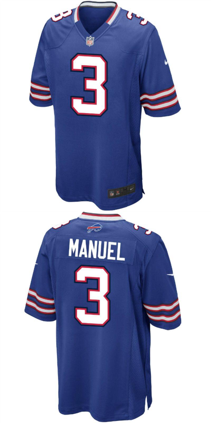 new product de0be 12532 EJ Manuel Buffalo Bills Nike Alternate Game Jersey White. Up ...
