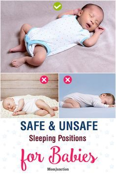 Sleeping Positions For Babies What Is Safe And What Is