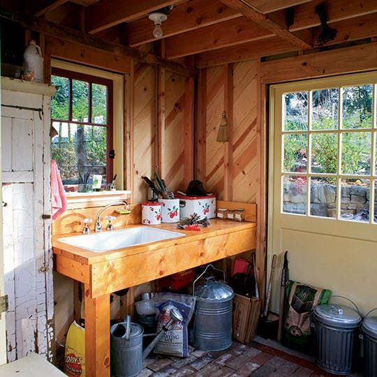 A Tiny Backyard Retreat: Gardening Shed Meets Campout Cabin U2014 Fine  Homebuilding