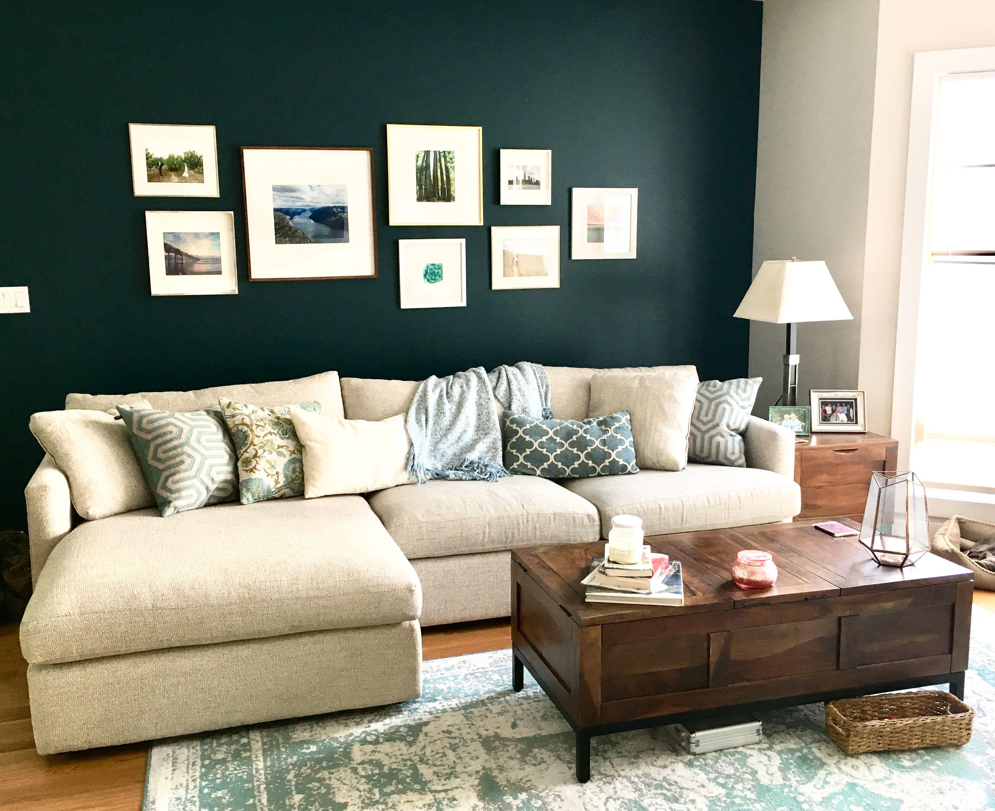 Benjamin Moore River Blue Living Room Designs Decorating