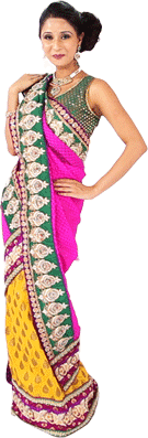 How to Wear Saree - Different Indian Styles of Saree Draping Video Tutorial | For the ...