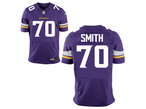 nfl men minnesota vikings 70 andre smith nike purple elite jersey