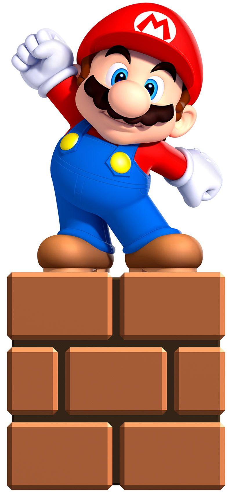 Mini Mario Characters Art New Super Mario Bros U Mini Mario Super Mario Bros Mario Bros