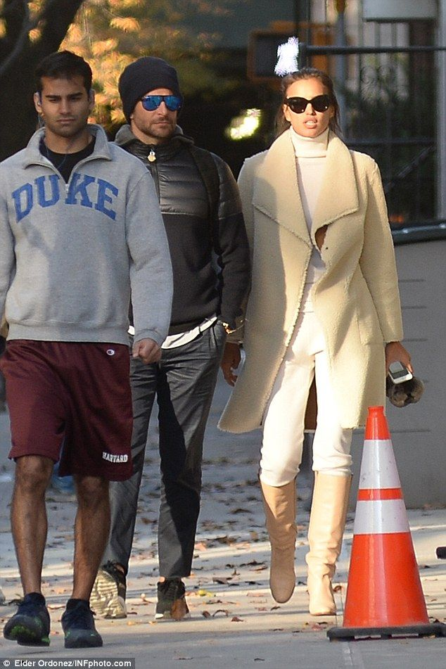 a088e71a80a Bradley Cooper enjoys lunch outing with girlfriend Irina Shayk in NYC