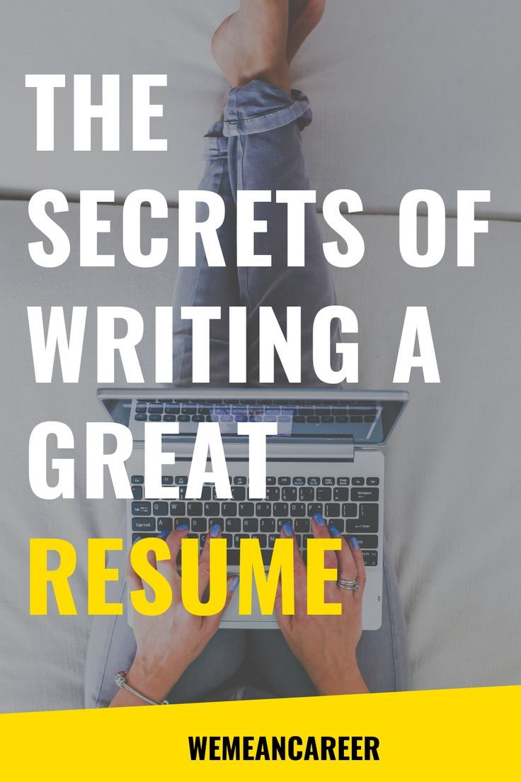Online course how to write a jobwinning resume