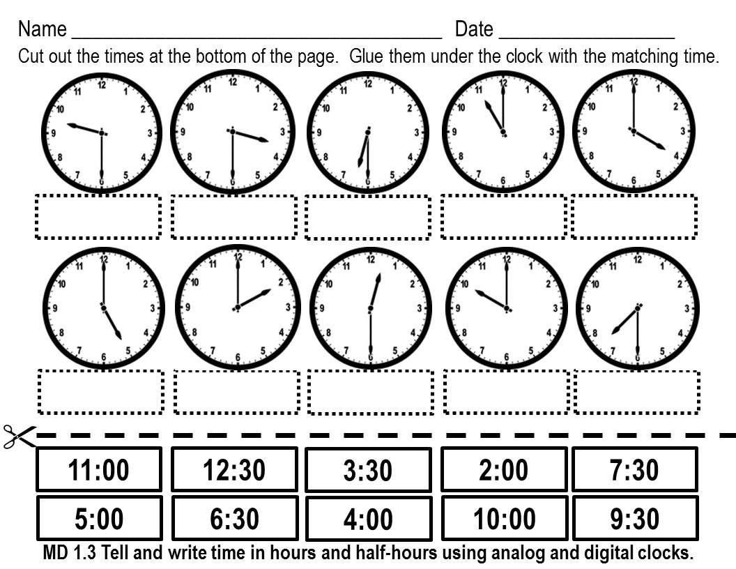 1st Grade Time Worksheets For Download 1st Grade Time