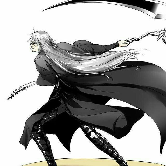 Black Butler Undertaker Scythe