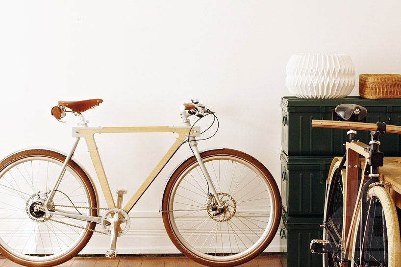 WOOD.b wooden bicycles by BSG bikes   Bicycling, Woods and Cycling