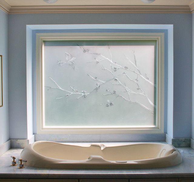 Milchglas Badezimmer Fenster | Badezimmer ohne fenster, Glas ...