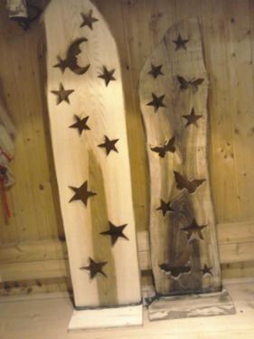 Weihnachtsdeko Dekobrett Holzdeko Bretter Holz Krippe Deko In