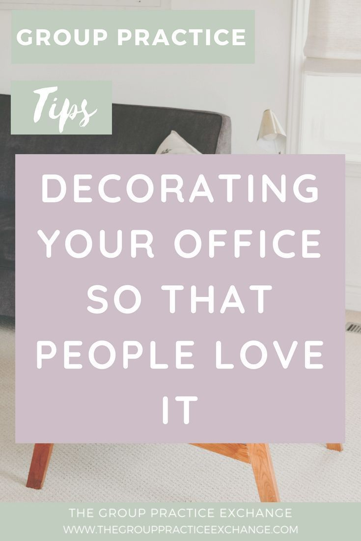 Decorating Your Office What I am saying is that a nicely decorated office plays a big part in your clients first impressions and research has shown plays a part in whethe...