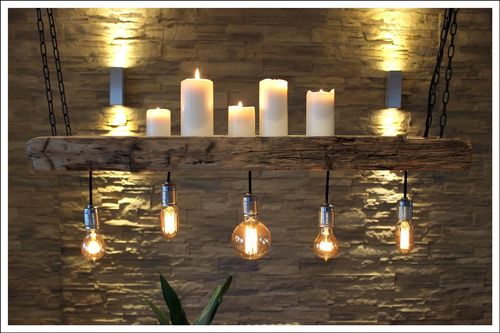Retro Lampe, Bauen Mit Holz Und