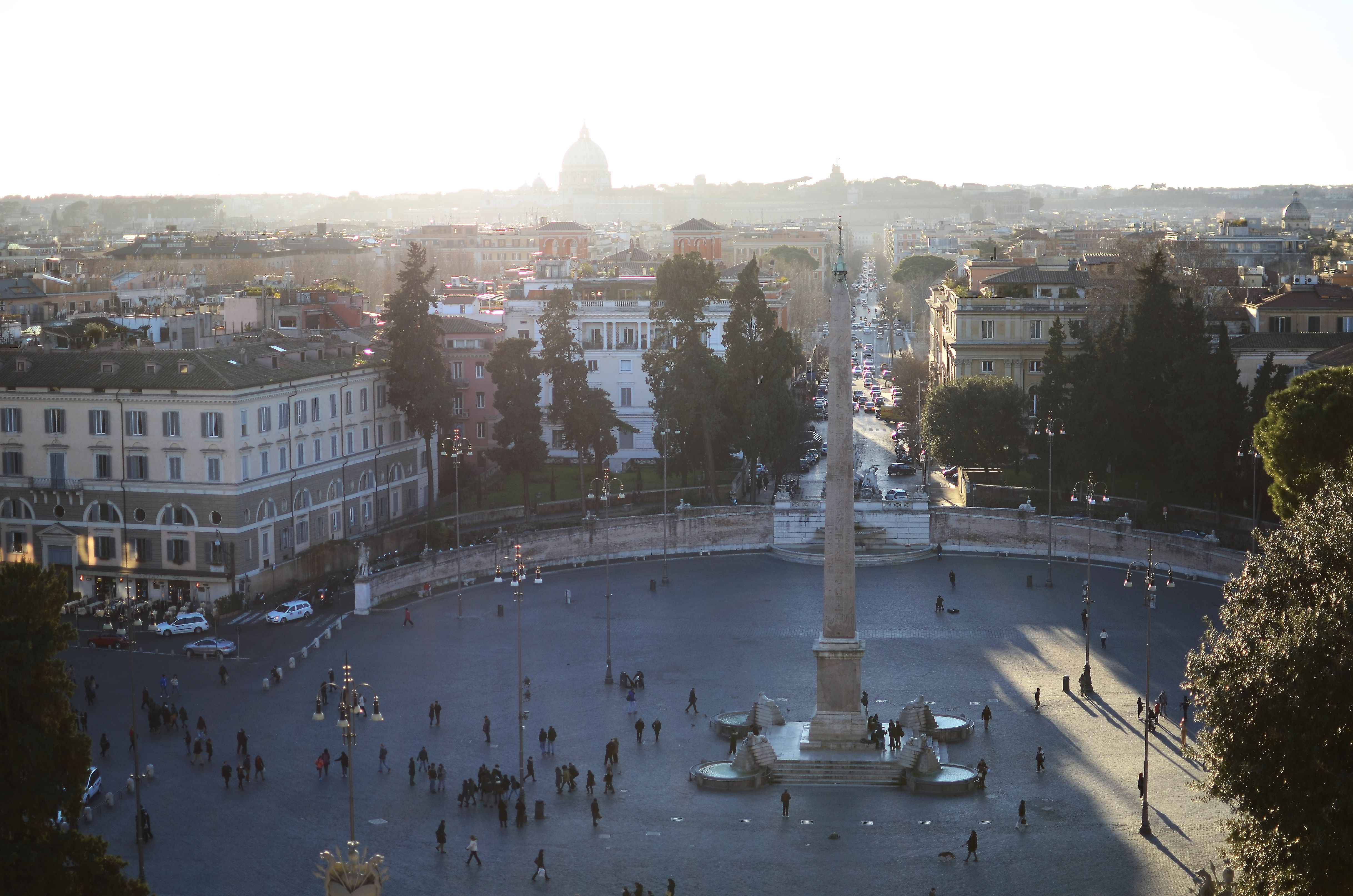 Terrazza Del Pincio Katarzymowy Rzym Taras I Rzym
