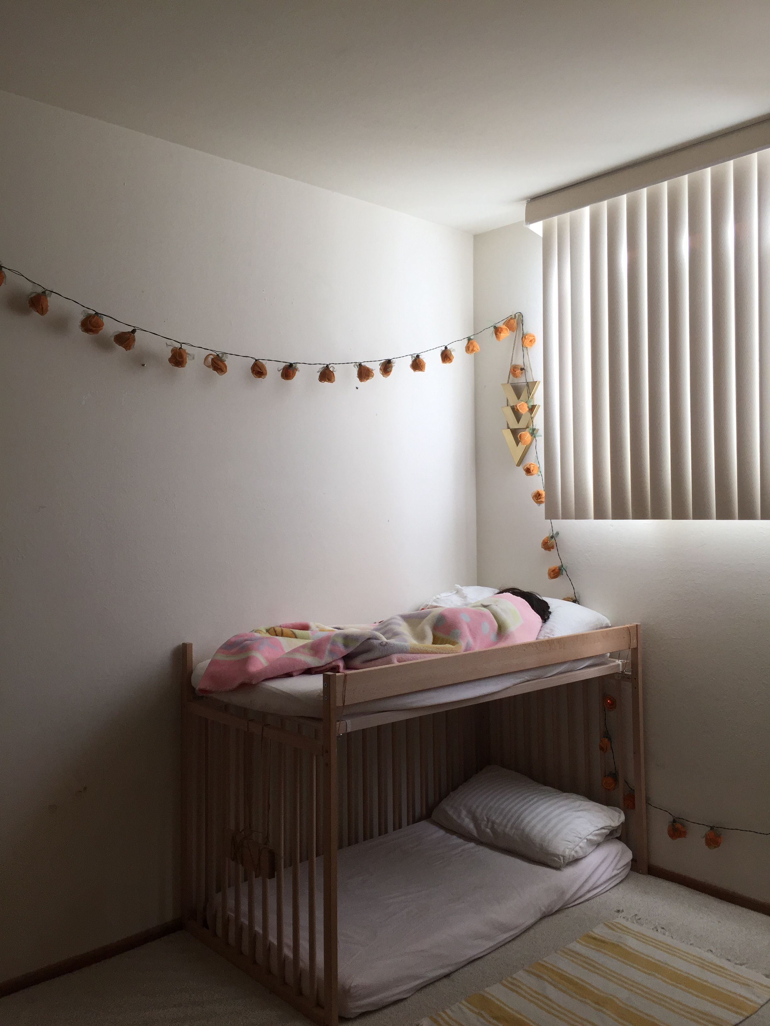 Bunk Bed Ikea Hack Turn Ikea Crib Into A Bunk Bed Toddler Bed Ikea Baby Room Toddler Bed Ikea Crib