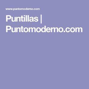 Puntillas | Puntomoderno.com