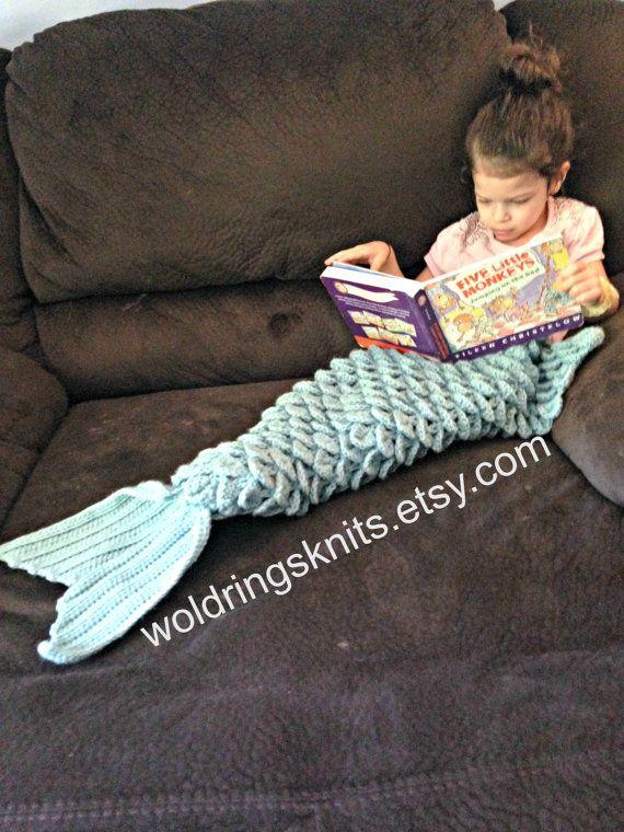 Zeemeermin Deken Mermaid Staart Deken Kind Zeemeermin Deken Deken