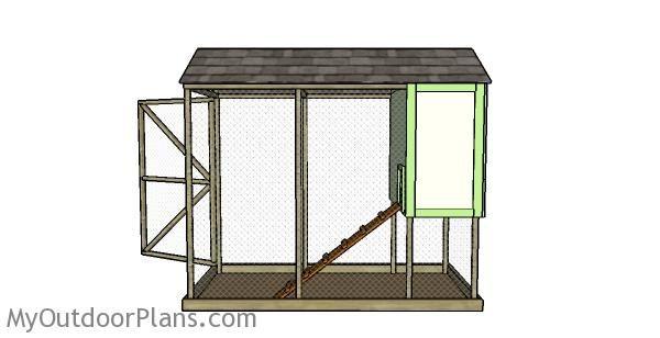 Backyard Chicken Coop Plans   MyOutdoorPlans   Free ...