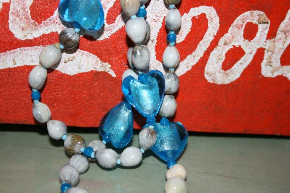 Glass & Zulu tooth beads