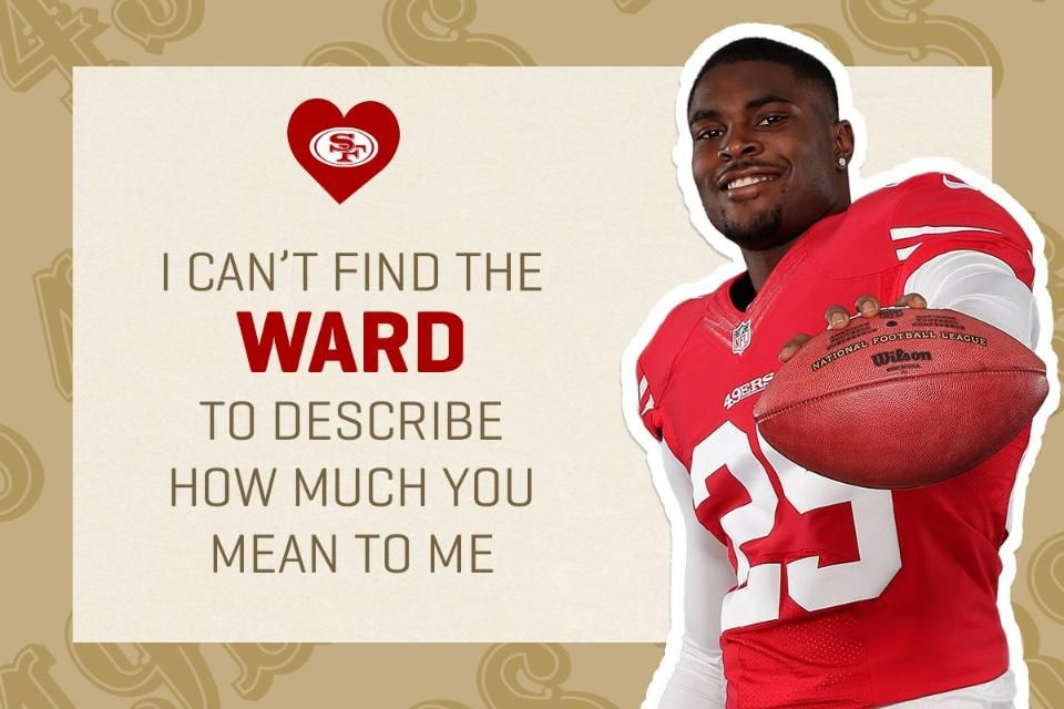 Epic 49ers Themed Valentine S Day Cards Valentine Day Cards 49ers Cards