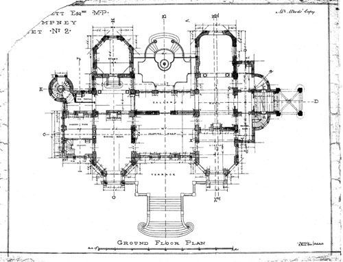 chateau impney ground floor plan 1875 castle