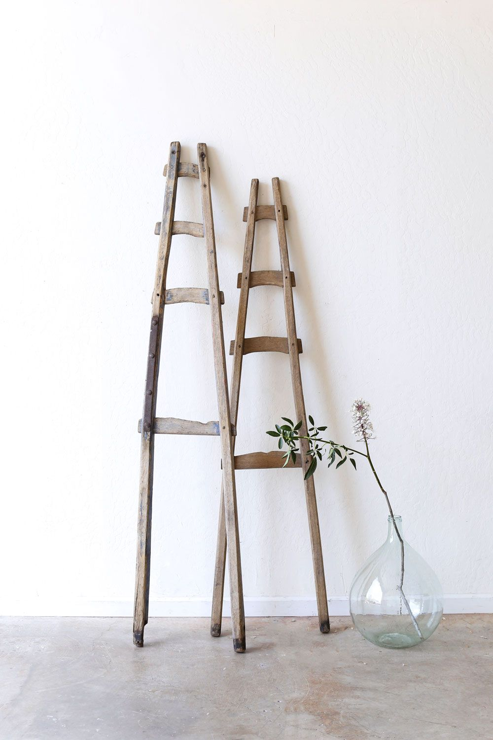 Rustic A-Frame ladder | Moving back in | Pinterest | Rustic, Rustic ...