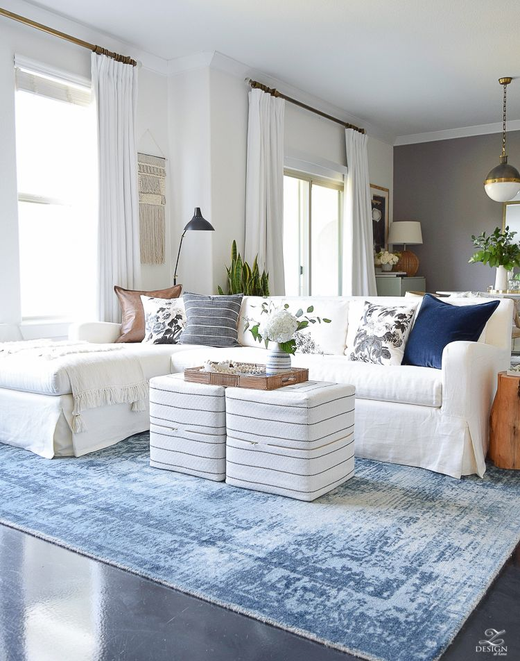 Fresh Ideas For Fall Home Tour Zdesign At Home Rugs In Living Room Home Decor Home