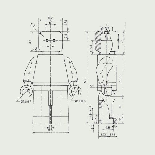 Image result for schematic of Lego anatomy