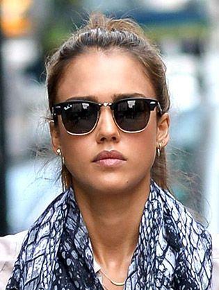 Jessica Alba Style Sunglasses   Celeb Style in 2019   Pinterest ... 477b3137cf