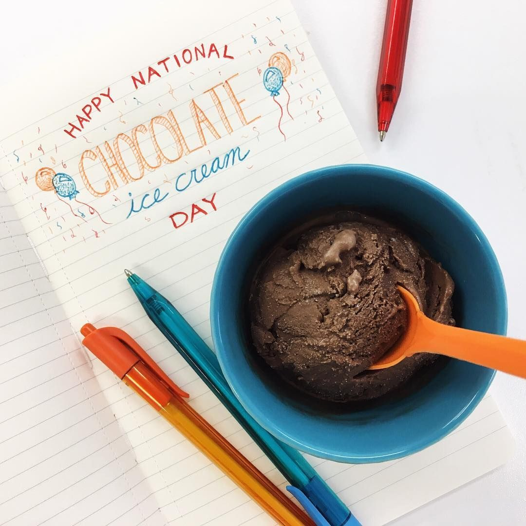 Celebrate chocolate ice cream day with lactose free ice