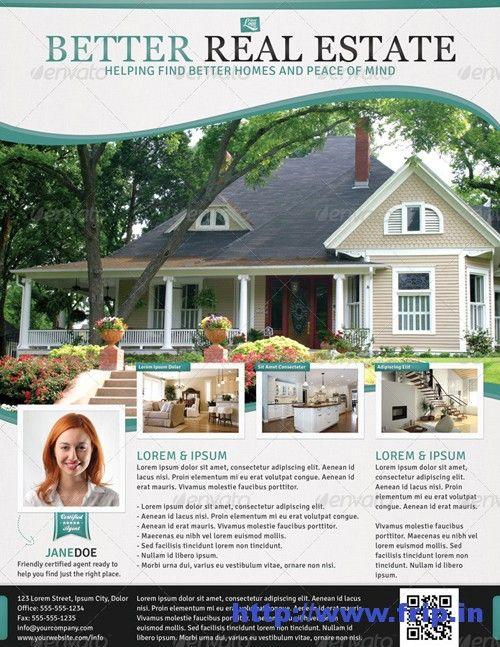 50 best real estate flyer print templates 2017 wordpress themes