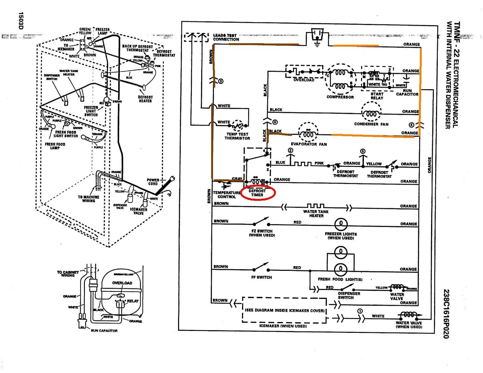 Ge Refrigerator Wiring Diagram In