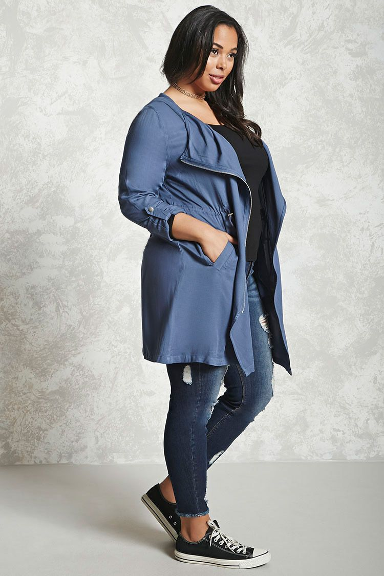 a06557f7adc Forever - A lightweight jacket featuring an asymmetrical zip front