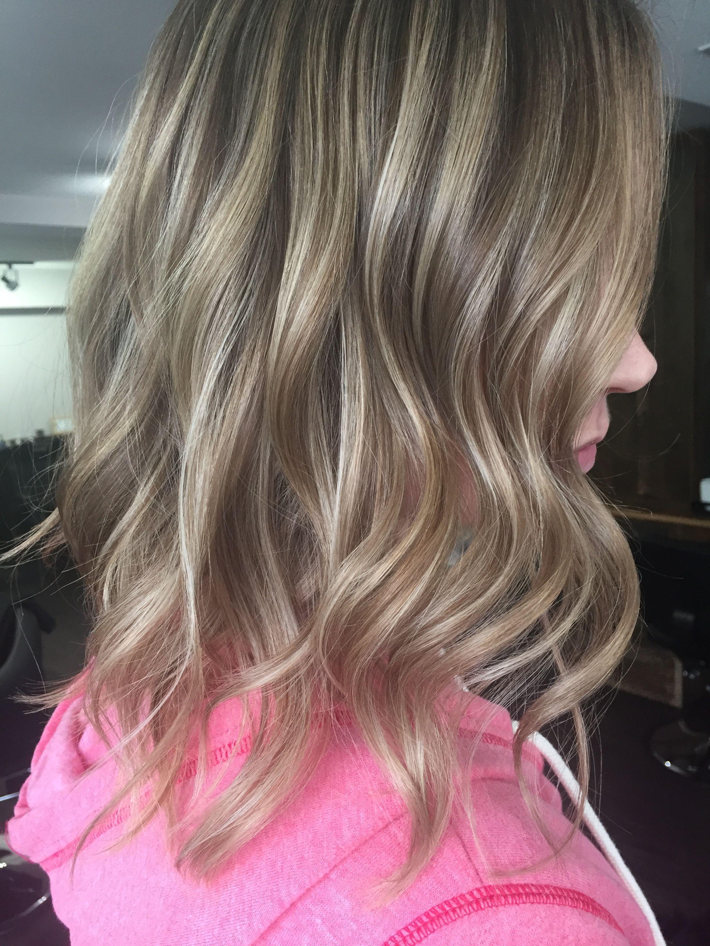 Bronde sandy sand slate ash cool hair medium dark light blonde