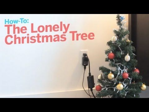 Arduino Hack Lights Up The Tree With Every Email Spammers Get In Spirit Christmas Tree Tree Christmas Lights