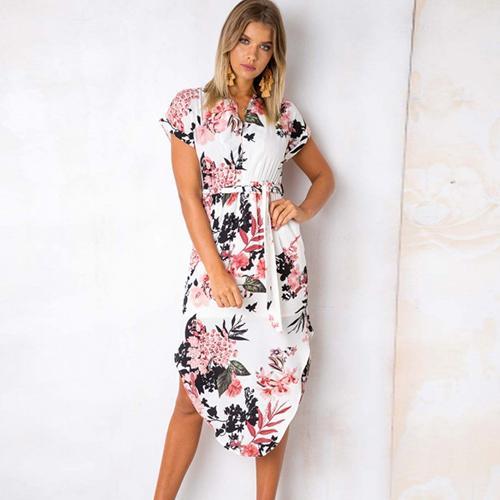 0e3f2a643264d Gogoyouth Long Bohemian Women Summer Dress 2018 Vintage Plus Size ...