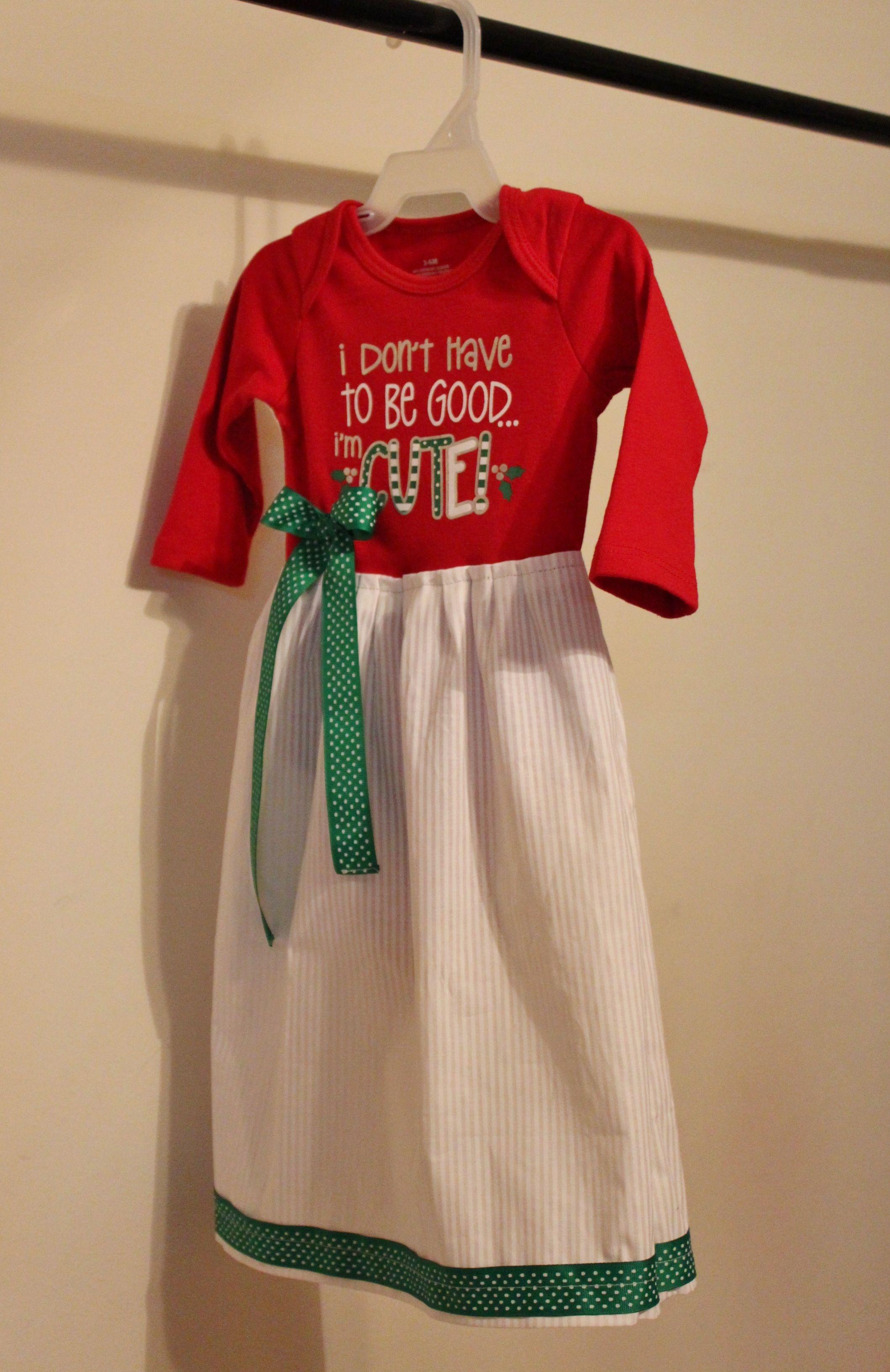 DIY Infant Gown