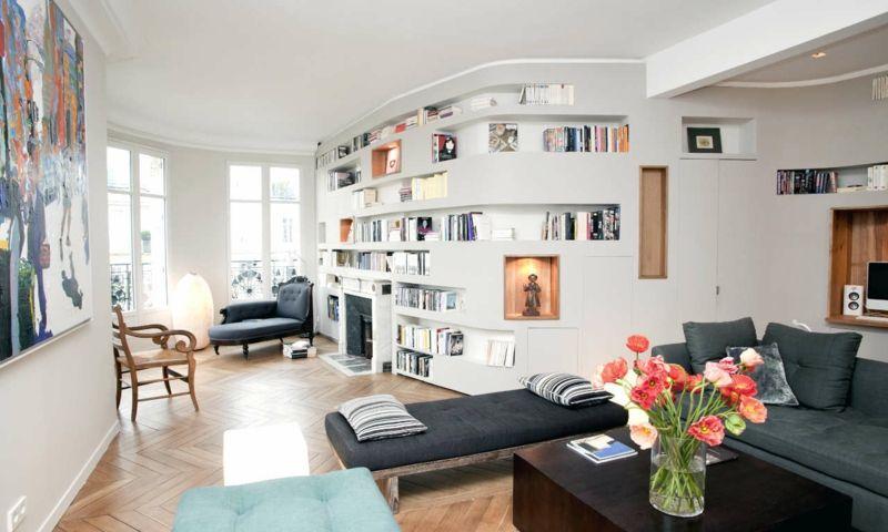 Einrichtung fürs Wohnzimmer in 80 inspirierenden Bildern #bildern