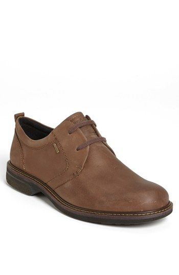 Free shipping and returns on ECCO 'Turn GTX' Plain Toe Derby (Men) at Nordstrom.com. Earthy leather shapes a versatile, casual derby fitted with a Gore-Tex® membrane for fully waterproof protection.