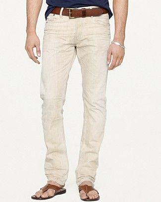 Ralph Lauren Black Label DENIM Straight-Fit Jean