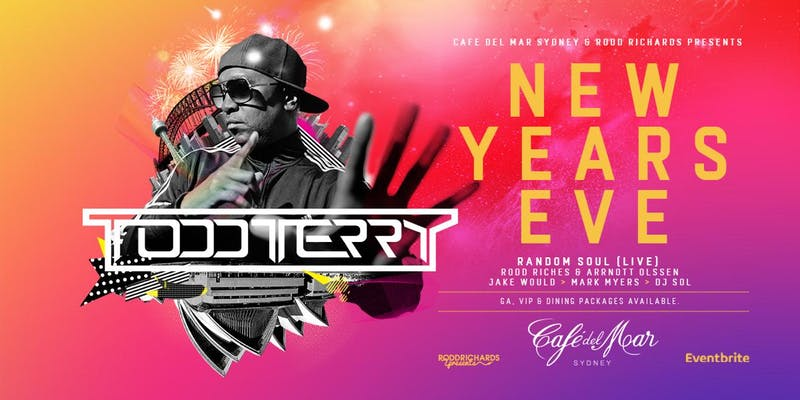 Eventbrite NYE 2019 ft. Todd Terry Tuesday, 31